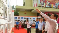 Tân Kỳ: Triển lãm ảnh 'Quốc hội Việt Nam - Những chặng đường lịch sử'