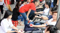341 đơn vị máu được hiến trong ngày hội đầu hè