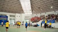 Khai mạc giải bóng chuyền Lễ hội Làng Sen 2016