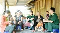 Bộ đội biên phòng Nghệ An phối hợp đảm bảo an toàn cho ngày bầu cử