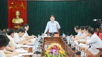 Đồng chí Nguyễn Đắc Vinh: Cần thực hiện tốt chức năng quản lý cán bộ, đảng viên