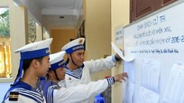 Có 51 đơn vị quân đội đóng quân ở 10 tỉnh bầu cử sớm