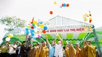 Hàng nghìn người về dự đại lễ phật đản 2016 tại chùa Hà