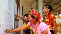 Cử tri dân tộc Mông, Khơ Mú vùng biên giới Nghệ An chuẩn bị bỏ phiếu sớm