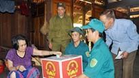 5.000 cử tri huyện miền núi Con Cuông (Nghệ An) tham gia bầu cử sớm