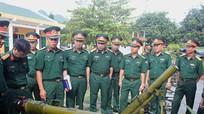Tổng cục Công nghiệp quốc phòng khảo sát chất lượng vũ khí tại Sư đoàn 324