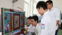 42 sản phẩm chung khảo 'Sáng tạo Thanh thiếu niên nhi đồng' ở Nghệ An