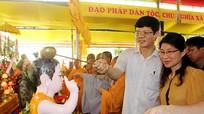 Trang trọng Đại lễ Phật Đản tại Tổ đình Cần Linh