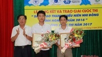 Trường THPT Anh Sơn 2 dành giải Đặc biệt Cuộc thi Sáng tạo thanh thiếu niên nhi đồng
