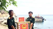 Cán bộ, chiến sỹ trên Đảo Mắt hoàn thành nghĩa vụ bầu cử
