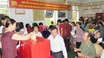 Quỳ Châu: 100% cử tri đi bầu cử trong ngày hội lớn