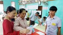 Nghi Lộc: 90% cử tri vùng biển đã tham gia bầu cử ngay trong sáng 22/5