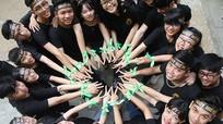 Những khoảnh khắc trong Lễ trưởng thành của học sinh trường Lê Viết Thuật