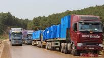 Vận chuyển 35.200 tấn thiết bị về lắp ráp nhà máy xi măng Sông Lam