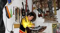 Nghệ An: Bộ sưu tập nhạc cụ độc đáo 'có một không hai'