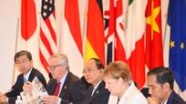 Thủ tướng Nguyễn Xuân Phúc nêu vấn đề Biển Đông tại hội nghị G7 mở rộng