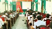Đảng ủy Khối CCQ tỉnh yêu cầu các cơ sở Đảng tích cực triển khai Chỉ thị 05