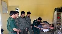 BĐBP Nghệ An cấp cứu kịp thời một cán bộ biên phòng nước bạn Lào
