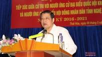Cử tri Thị xã Thái Hòa: Mong các ứng cử viên giữ đúng lời hứa