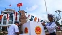 Bỏ phiếu bầu cử sớm trên đảo Song Tử Tây