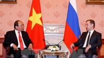 Thủ tướng Nguyễn Xuân Phúc hội đàm với Thủ tướng Liên bang Nga Dmitry Medvedev