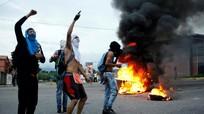 Bùng nổ làn sóng phản đối Tổng thống Venezuela