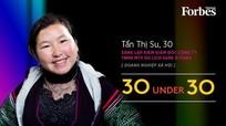 Cô gái Mông được Forbes Việt Nam vinh danh