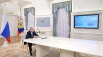Putin bấm nút cho tàu chở dầu đầu tiên xuất phát từ 'Cửa Bắc Cực'