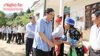 Bí thư Tỉnh ủy làm việc tại huyện Kỳ Sơn