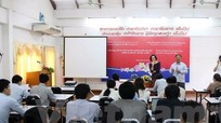 Việt Nam giúp nâng cao kỹ năng, tay nghề cho đội ngũ báo chí Lào