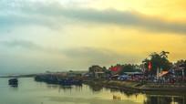 Về biển Quỳnh Phương thăm Đền Cờn ngoài