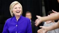 Cánh cửa Nhà Trắng rộng mở cho Hillary Clinton