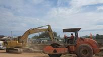 Công ty CP xi măng sông Lam sửa chữa đường giao thông cho xã Bài Sơn
