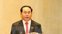 Chủ tịch nước Trần Đại Quang lên đường thăm cấp Nhà nước tới Lào