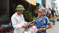 Gặp người bán báo dạo lâu năm nhất ở Thành phố Vinh