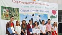 Người Việt ở Hàn Quốc hướng về trẻ em nghèo xứ Nghệ