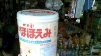Sữa Meiji nhập khẩu ở Việt Nam có nguy cơ là hàng giả
