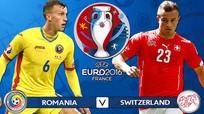 Thụy Sỹ chia điểm với Romania