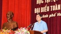 Đồng chí Nguyễn Đắc Vinh: 'Học tập, triển khai Nghị quyết là sinh hoạt chính trị quan trọng'