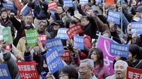 Nhật Bản thành lập cảnh sát đặc biệt chống bạo lực tại Okinawa