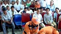 Nghệ An: Tập huấn tìm kiếm cứu nạn cho ngư dân