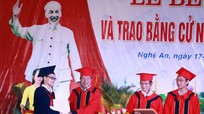 Gần 3000 sinh viên Trường Đại học Vinh được công nhận tốt nghiệp