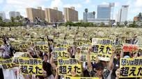 Nhật Bản: Hàng nghìn người phản đối Mỹ đóng quân ở Okinawa