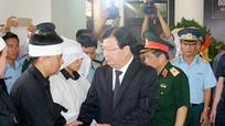 Lãnh đạo Đảng, Nhà nước, tỉnh Nghệ An viếng Đại tá phi công Trần Quang Khải