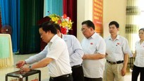 HĐND huyện Tân Kỳ, nhiệm kỳ 2016-2021 bầu các chức danh chủ chốt
