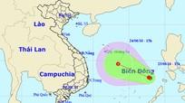 Tin về áp thấp nhiệt đới trên biển Đông