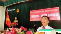 Ông Phan Đình Đạt tái đắc cử chức danh Chủ tịch HĐND huyện Quỳ Hợp