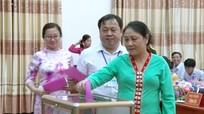 HĐND huyện Tương Dương bầu các chức danh chủ chốt