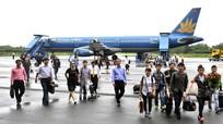 Lượng khách thông qua cảng hàng không Vinh tăng gần 30%