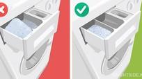 11 lỗi sử dụng máy giặt ở hầu hết các gia đình
